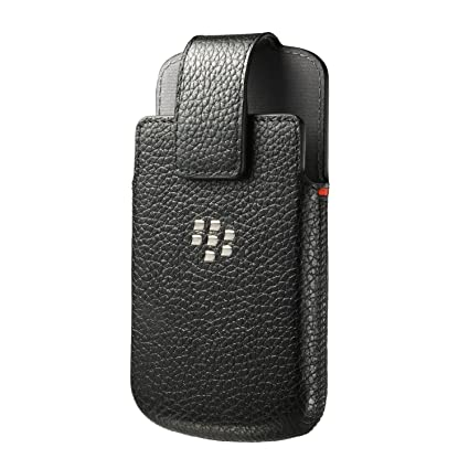 Amazon.com: Blackberry acc50879101 Leather Holster Q10 ...