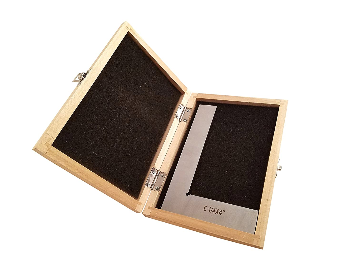 """Machinist Engineer Solid Square 6 1//4/"""" x 4/"""" x .220/"""" Thick DIN 875//0 Square w//in - 0.0003/"""" Stainless TTWSS6"""