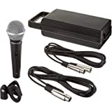 "Rockville RMC-XLR High-End Metal DJ Handheld Wired Microphone Mic + 1/4"" Cable"