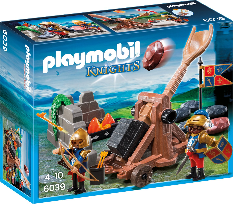 Playmobil 6039 Angriffskatapult der Löwenritter
