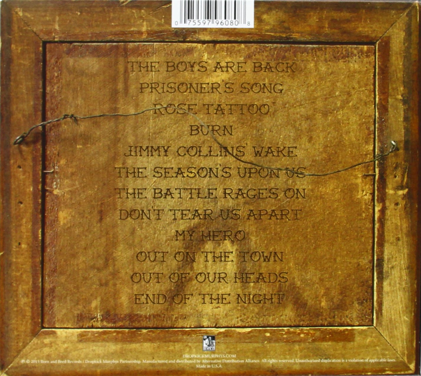 SIGNED and SEALED in BLOOD (Deluxe Edition) by Dropkick Murphys (Image #2)