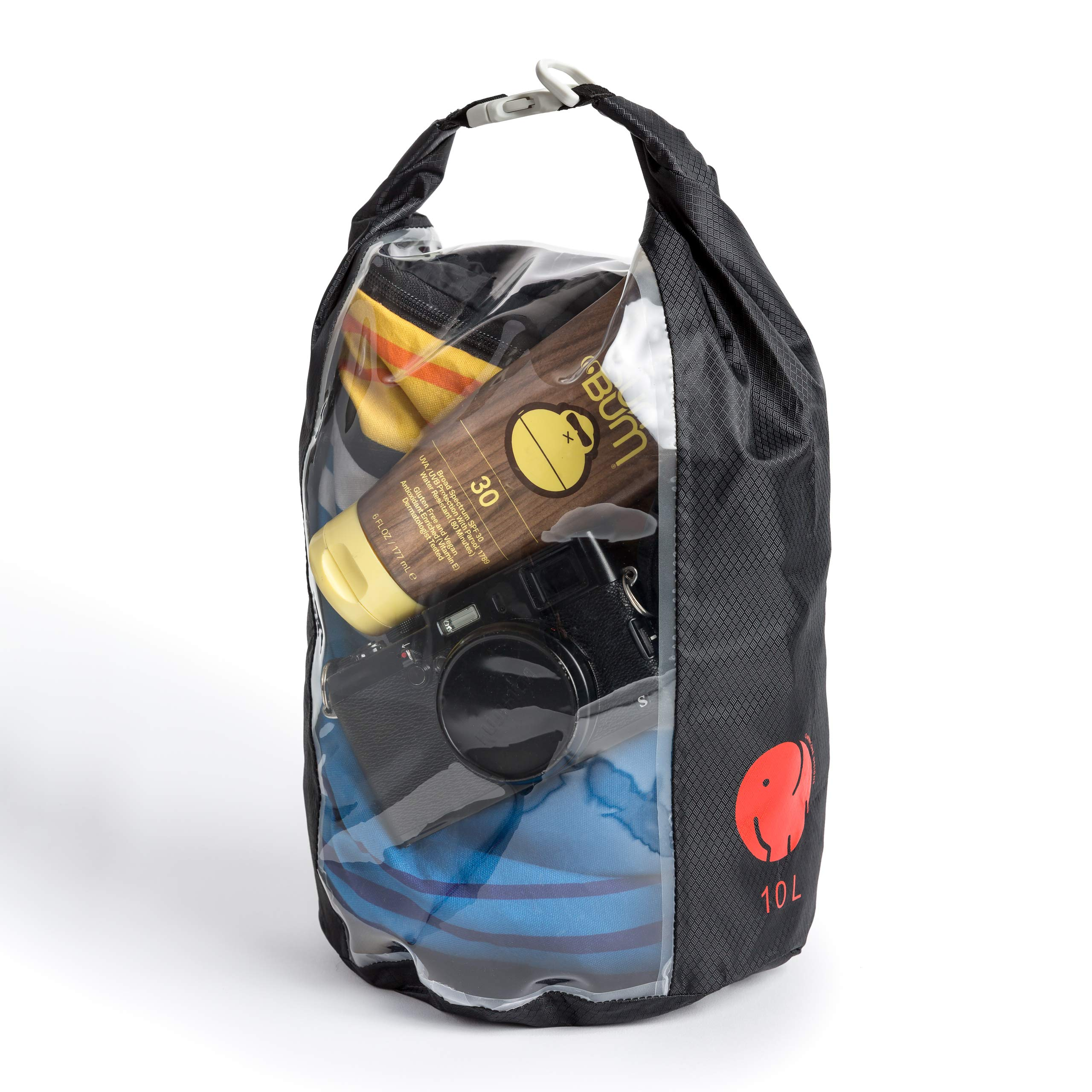 OmniCore Designs Peak-A-Boo Floating Rolltop Waterproof Dry Bag (10L) by OmniCore Designs