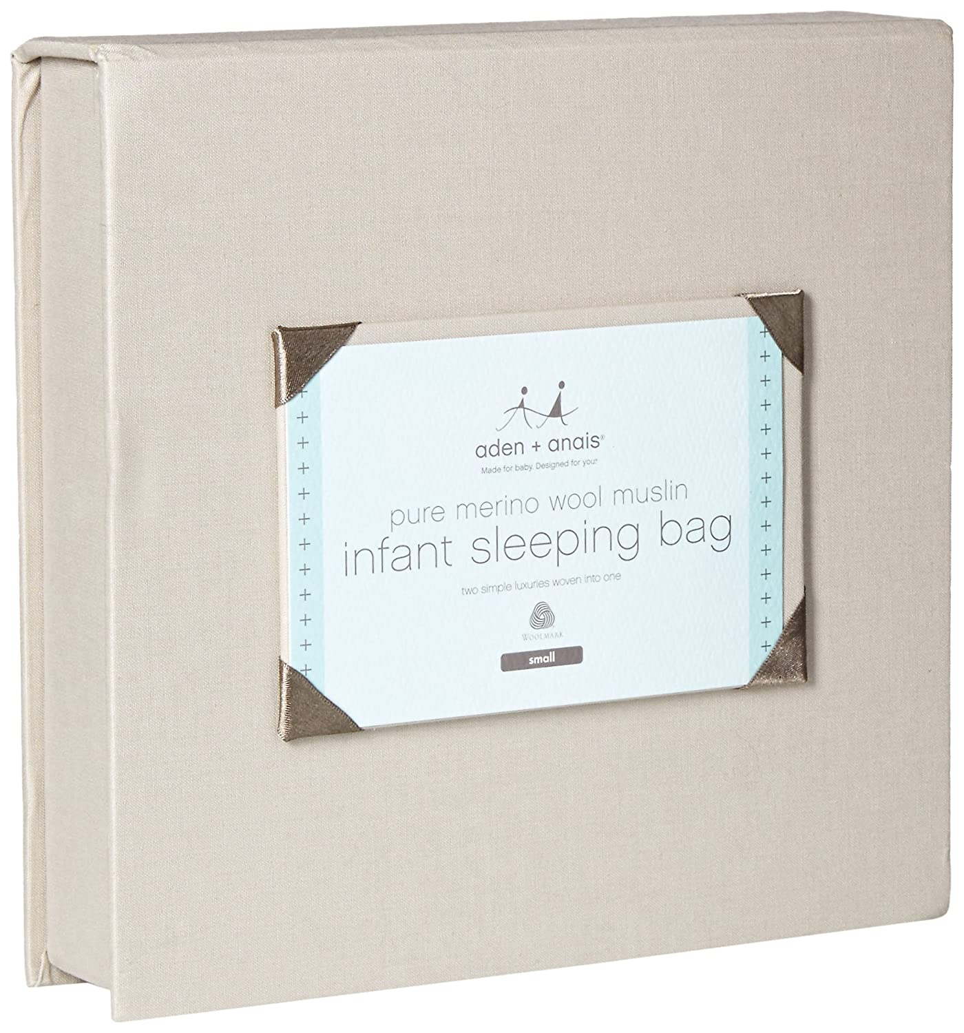 aden + anais Merino Muslin Sleeping Bag; Horizon; Small