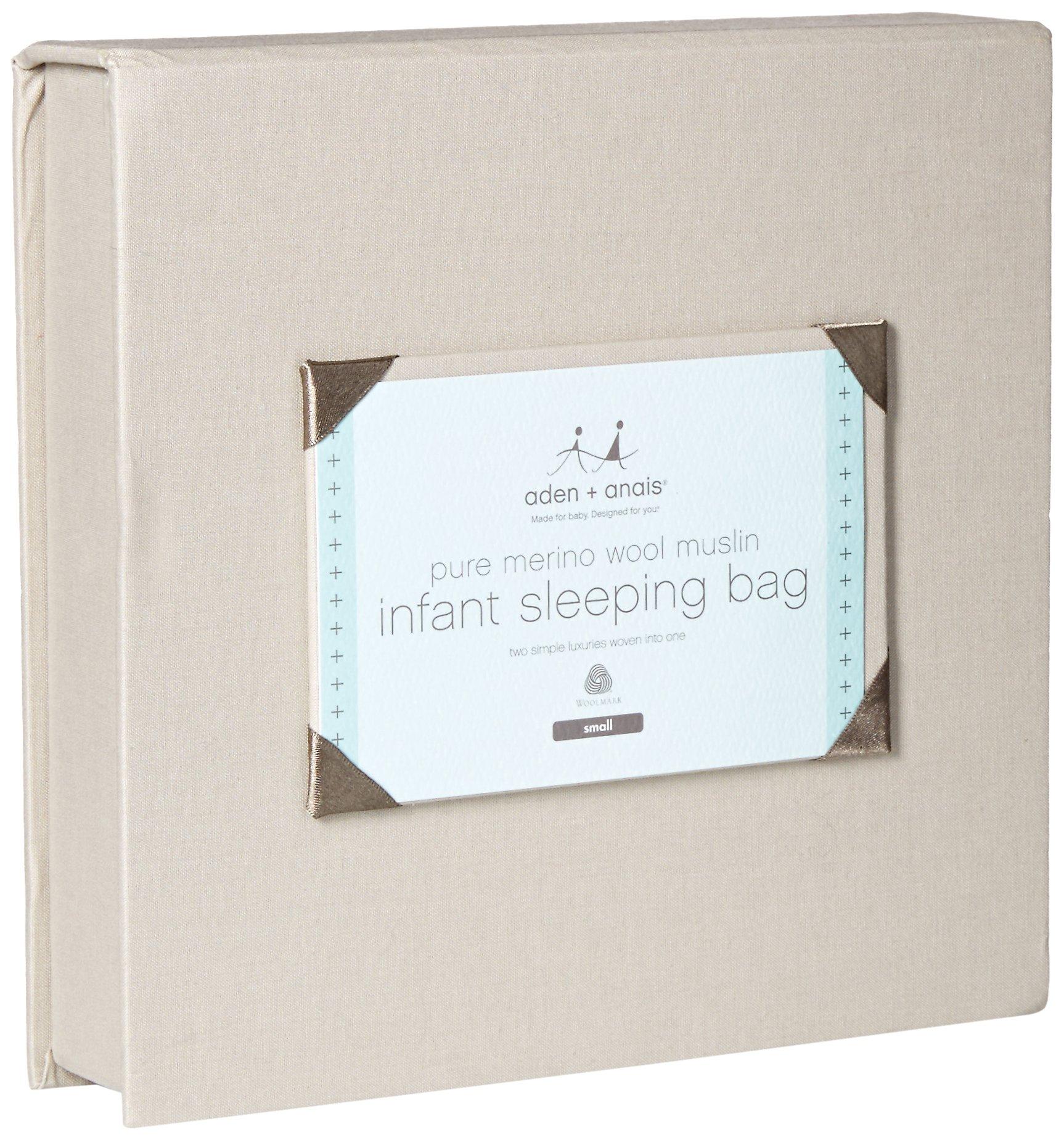 aden + anais Merino Muslin Sleeping Bag, Seaside, Small by aden + anais (Image #2)