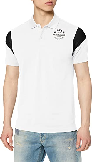 G-STAR RAW Sport Short Sleeve Polo para Hombre: Amazon.es: Ropa y ...