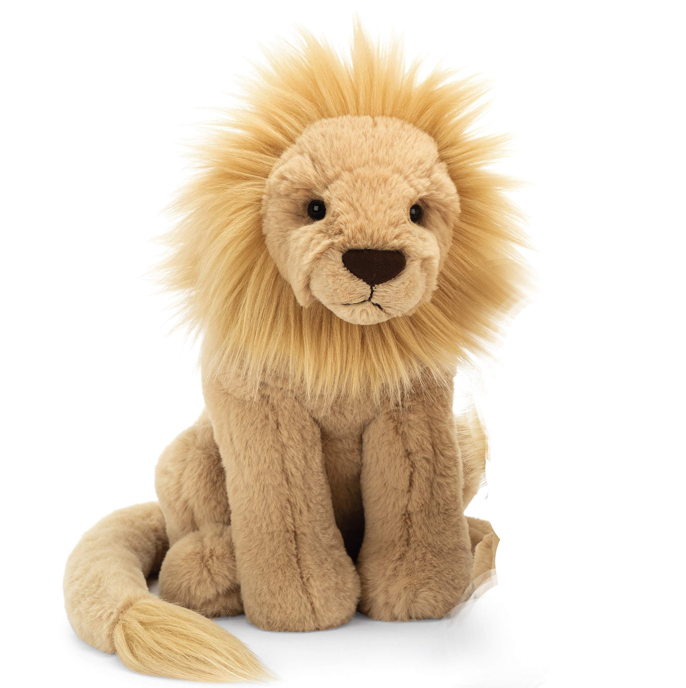 Jellycat Leonardo Lion Stuffed Animal, Large, 15 inches by Jellycat