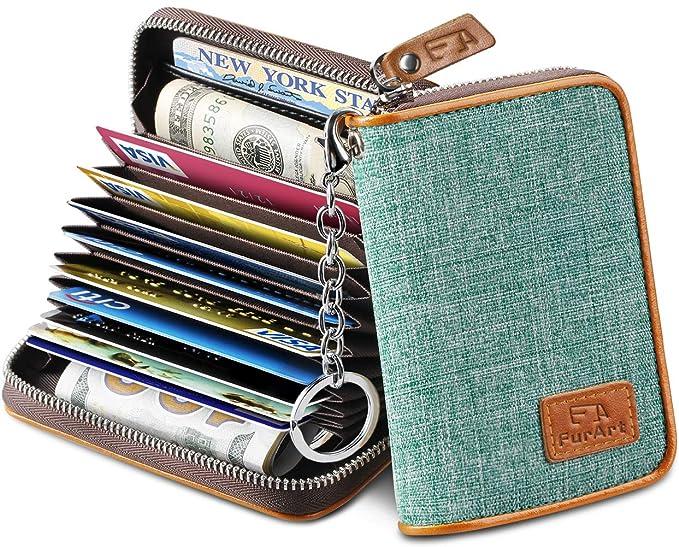 Amazon.com: FurArt - Tarjetero para tarjetas de crédito, con ...