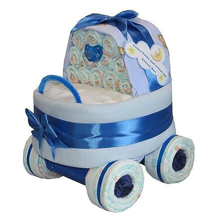 Pañales para tartas – Pañales Stuben carro Azul