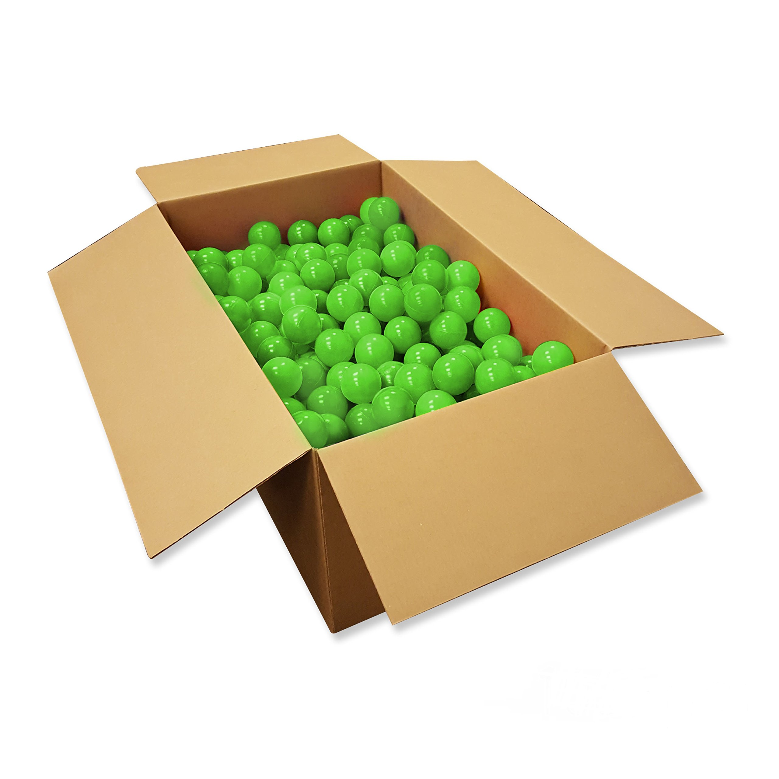 Kiddy Up Crush Resistant Play Pit Balls, Green