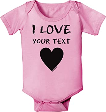 TooLoud On Valentines Day We Wear Pink Baby Romper Bodysuit