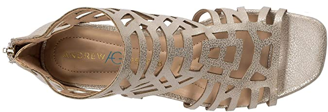 8ca214b90b Amazon.com | Andrew Geller Hillary Women's Sandals & Flip Flops | Flip-Flops