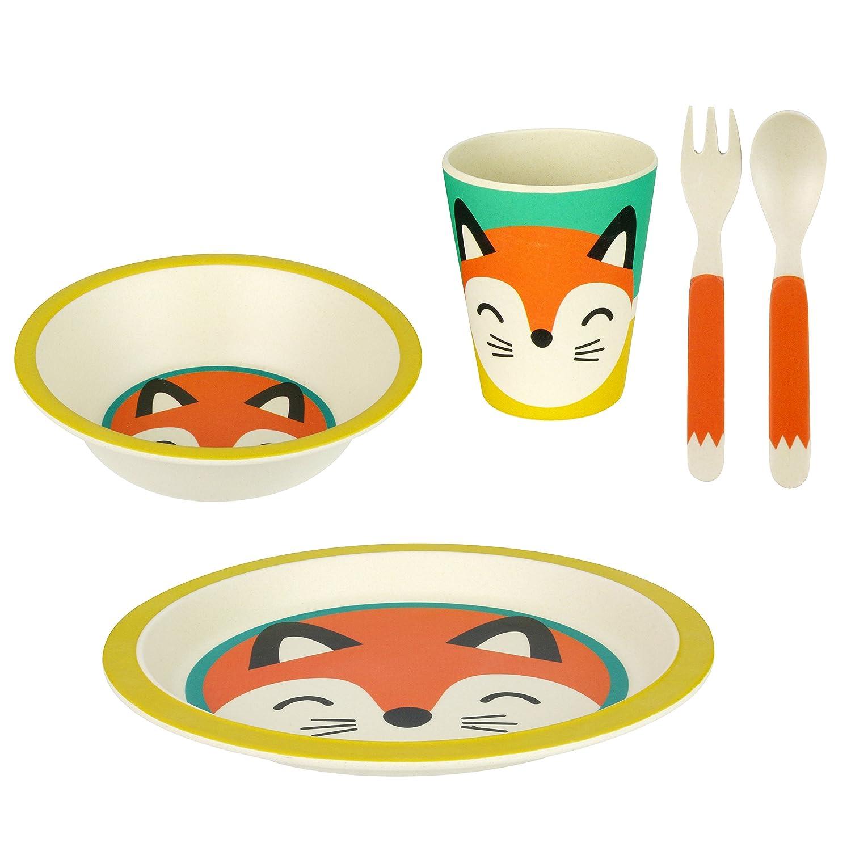 Geschirr Set F U R Kleinkinder Aus Bambus Fuchs Biologisch
