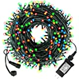 LED Christmas Lights Outdoor Indoor Christmas Decoration Lights 105Ft 300LED UL Certified(4 Sets Connectable), 8 Modes…