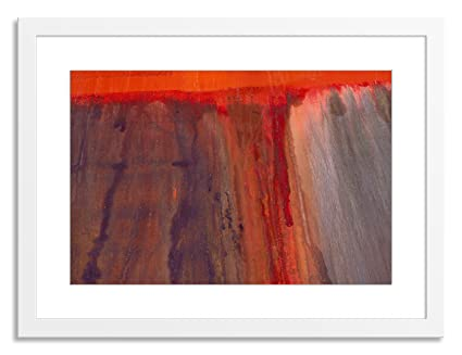 amazon com gallery direct lava flow i artwork on paper by wyn