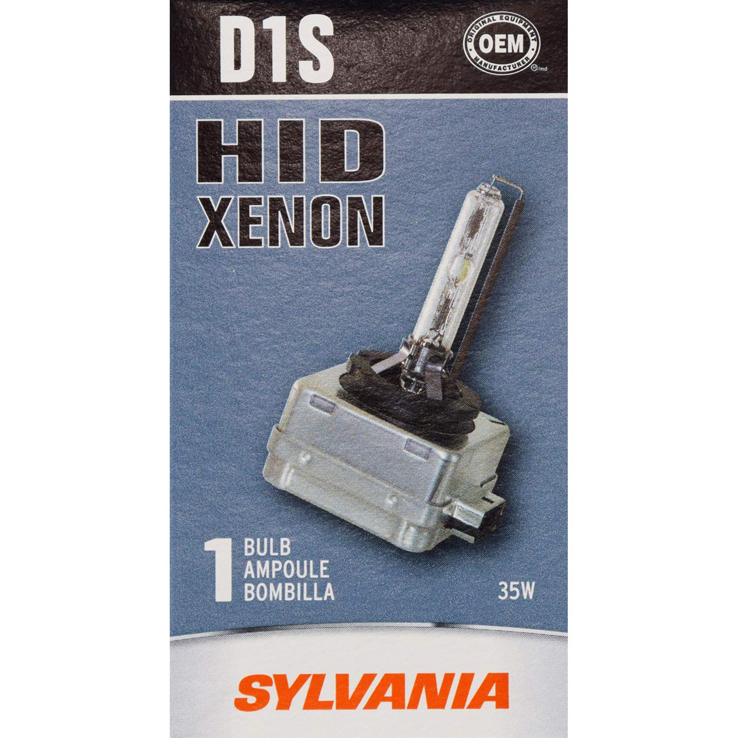 Sylvania D1s Hid High Intensity Discharge Lamp 2005 Saturn Wiring Diagram Security Contains 1 Bulb Automotive