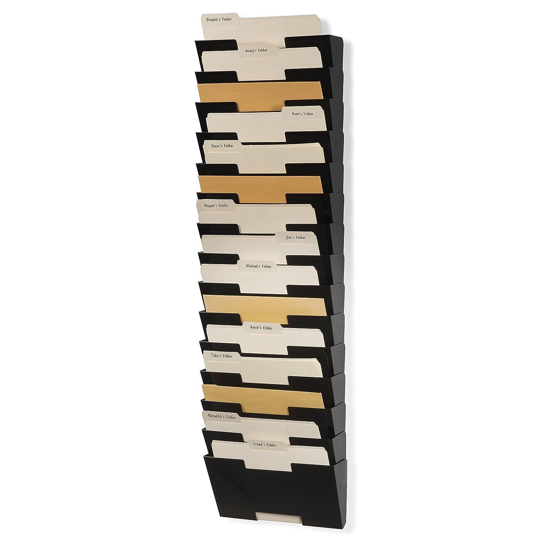 Amazon.: Wallniture Lisbon Wall File Holder Metal Vertical