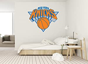 "Basketball Team - NBA team logo Wall Decal Vinyl Sticker for Home Interior Decoration Doors Laptop, Window, Mirror, Car (20"" x 16"")"