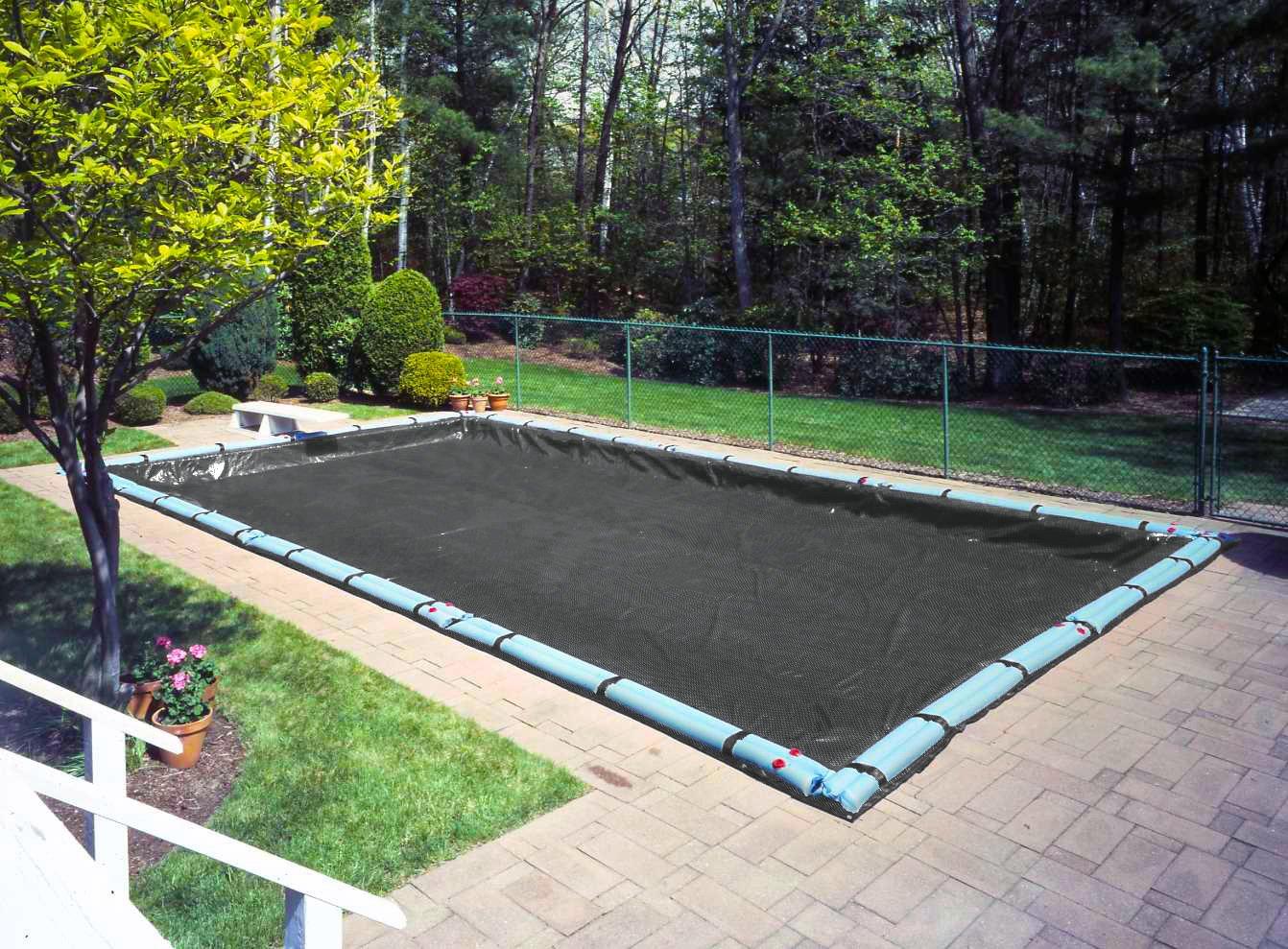 Robelle 381636R Mesh Winter Cover for 16 ft. x 36 ft. Rectangular In-Ground Swimming Pool B009QGLTPE