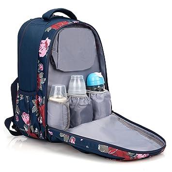 Amazon.com: niceebag bebé mochila para pañales (Gran ...