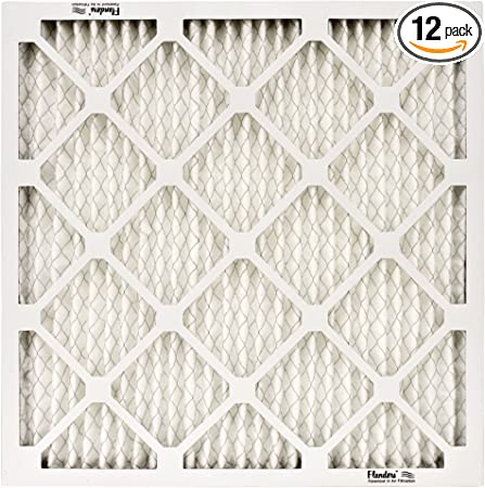 Pleated Air Filter Basic Residential Synthetic 20 X 25 X 1 Inch 3 Piece Pack