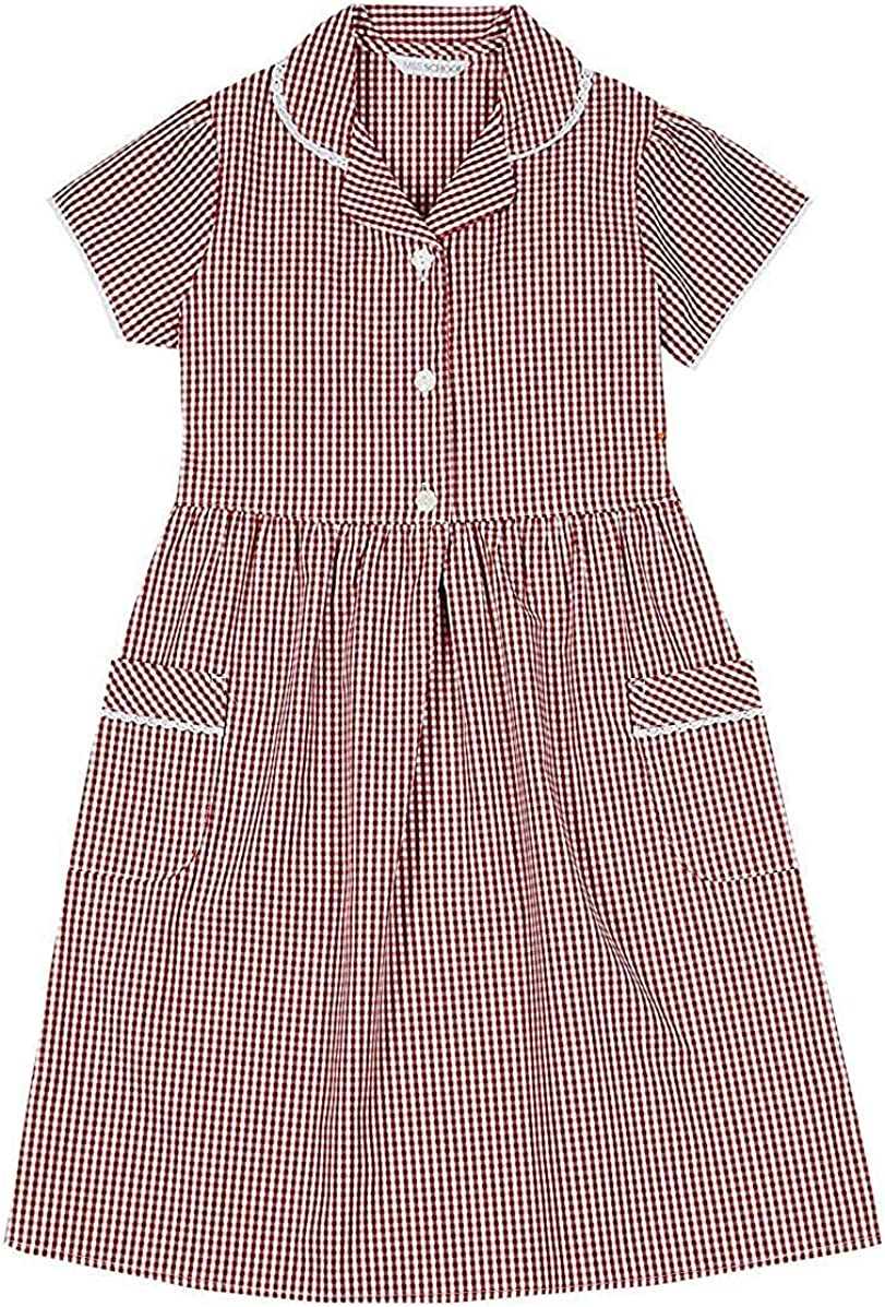 GIRLS SCHOOL PINAFORE DRESSES EX CHAINSTORE IN MANY COLOURS ALL SIZES