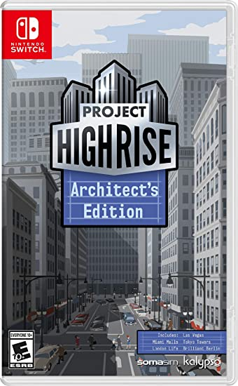 Jogo Project Highrise Architects Edition - Switch - Kalypso