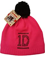 b9e5430ae92 Official Licensed 1D One Direction Bobble Hat Winter Beanie Neon Pink One  Size