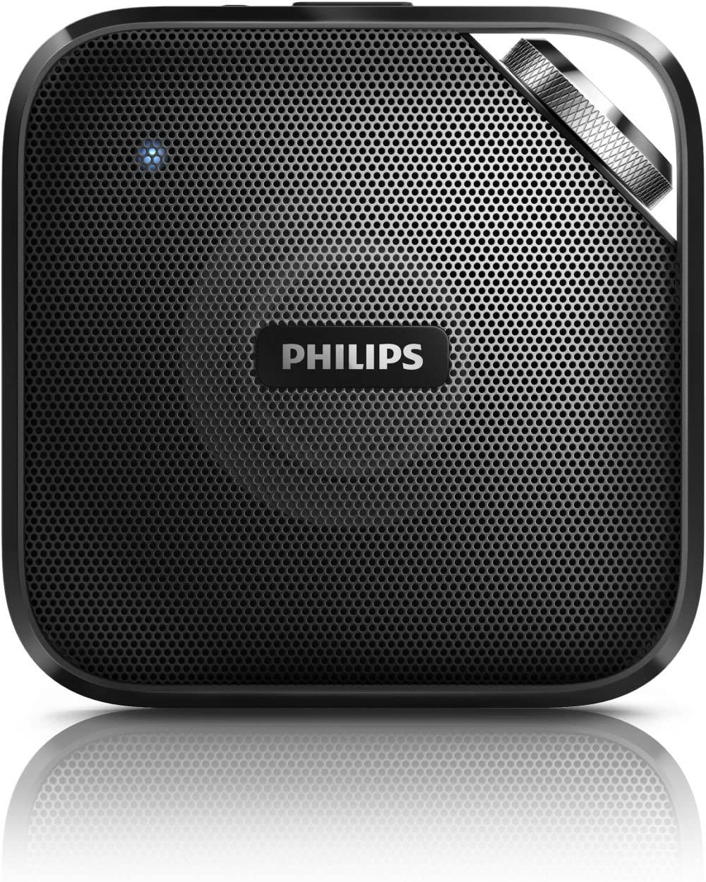 Philips BT2500B 37 Compact Wireless Portable Bluetooth Speaker