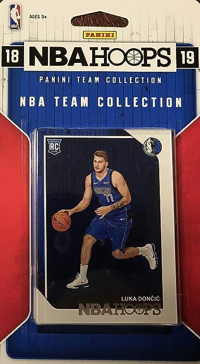 4a08fd832efd Amazon.com  Dallas Mavericks 2018 2019 Hoops Factory Sealed 10 Card ...