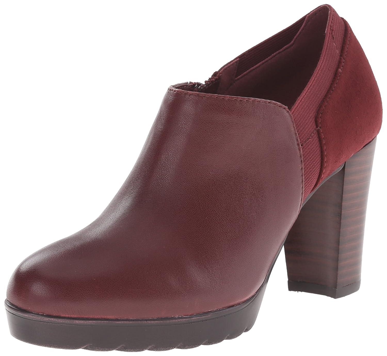Bella Vita Damens's Zofia Boot Burgundy Super Suede