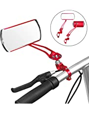 Jeemitery Bicycle Mirror,A Pair of 360°Rotation Back Rearview Mirror Handlebar Wide Angle Bike Mirror