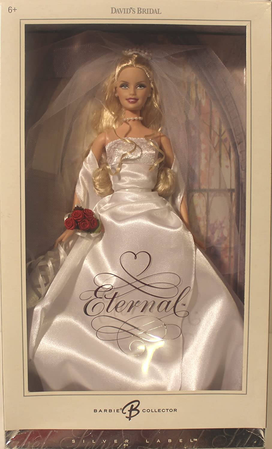 Amazon Com Barbie David S Bridal Eternal Silver Label