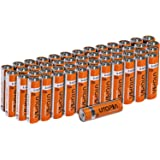 AA Alkali Battery (Pack of 50) - Long Lasting Performance - Perfect for Daily Use - by Utopia Home