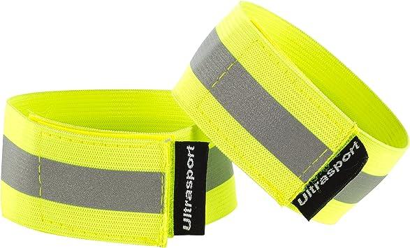 Ultrasport Paquete de 2 Bandas Reflectantes con Velcro: Seguridad ...