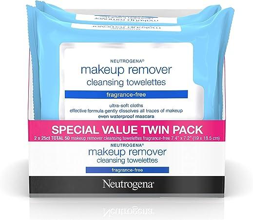 Amazon.com: Neutrogena toallitas limpiadoras faciales sin ...