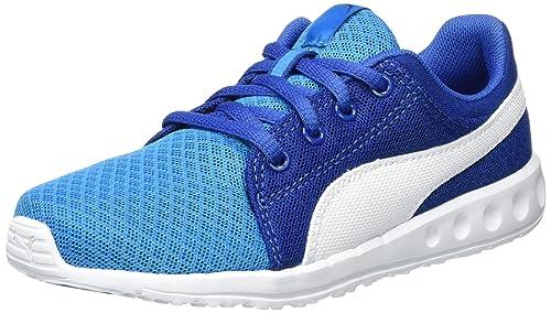 Puma Carson Runner 400 Mesh PS, Sneakers Basses Mixte Enfant