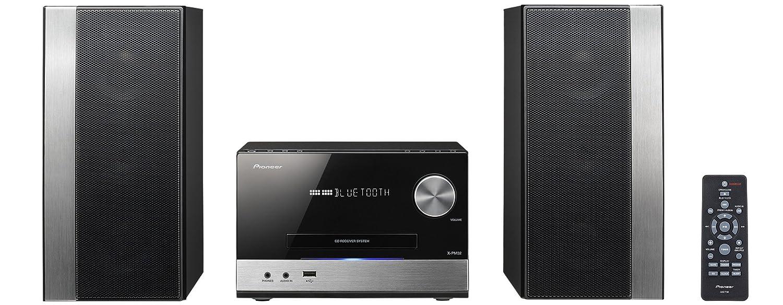 Pioneer X PM Microcadena W estéreo Streaming App Bluetooth WiFi color plateado