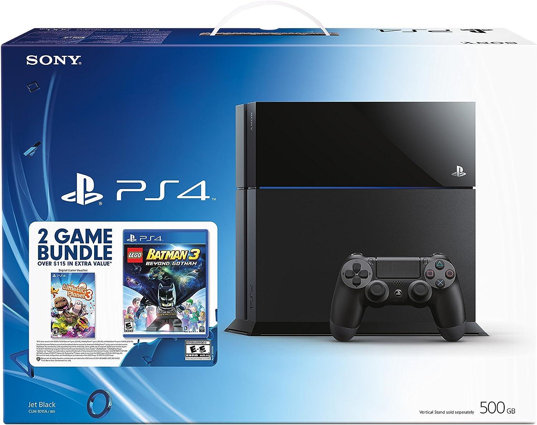 PlayStation 4 Black Friday Bundle – Lego Batman 3 and Little Big Planet 3 Discontinued