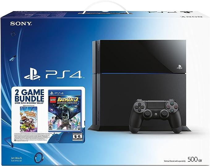 Sony PlayStation 4 Negro 500 GB Wifi - Videoconsolas (PlayStation ...