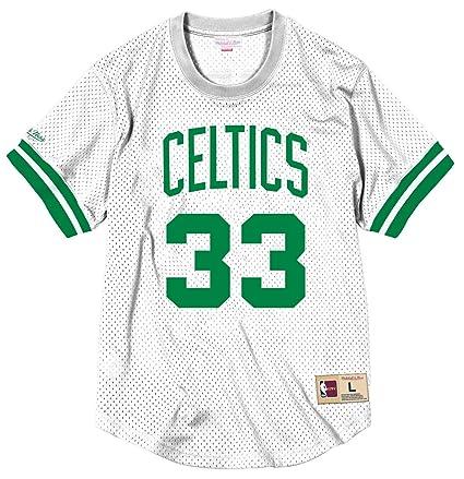 buy popular 13fee 1ee91 Mitchell & Ness Larry Bird Boston Celtics NBA Men's Mesh Jersey Shirt