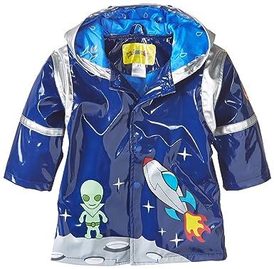 3f9174b88 Amazon.com: Kidorable Blue Space Hero All-Weather Raincoat for Boys w/Fun  Spaceship Pocket, Astronaut Helmet: Clothing