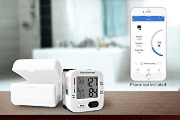 DynoSense - Accurate & Easy to USE - Digital Blood Pressure Monitor with Powerful & Engaging