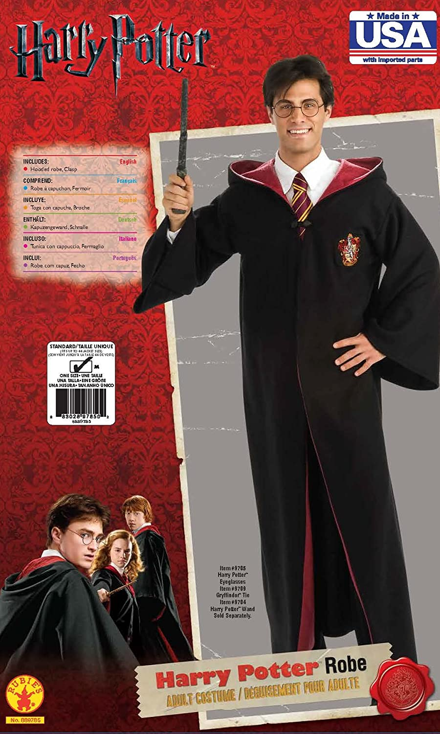 Rubie's Costume Co - Harry Potter Deluxe Robe Adult Costume Rubies Costumes - Apparel 889785