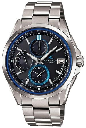 cheaper 382cb 4336e [カシオ] 腕時計 オシアナス CLASSIC 電波ソーラー OCW-T2600-1AJF シルバー