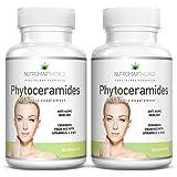 Anti-âge Phytocéramides de riz avec Céramide-PCD® d'ORYZA. Enrichi aux vitamines antioxidantes A, C, D et E pour le rajeunissement et l'hydratation des cellules de la peau (sans blé ni gluten!) 2 mois d'approvisionnement. * Plus efficaces que les Phytocéramides de blé de 350mg!