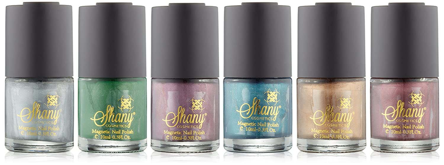 Amazon.com : SHANY Cosmetics Magnetic Nail Polish, Earth Colors ...