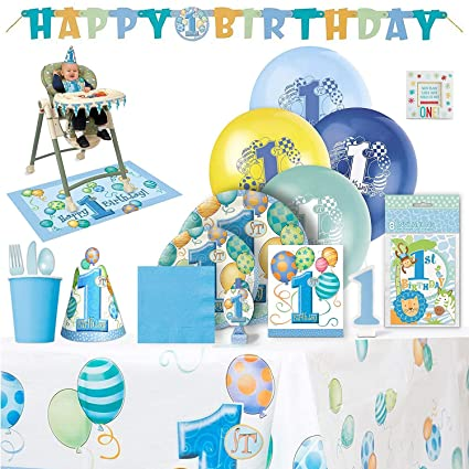 Image Unavailable Not Available For Color Babys 1st Birthday Party Supplies Boy