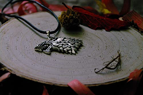 Collar - llavero - Pendientes Casa Stark de Game of Thrones ...