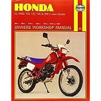Honda XL XR 80 100 125 185 200 2 valve