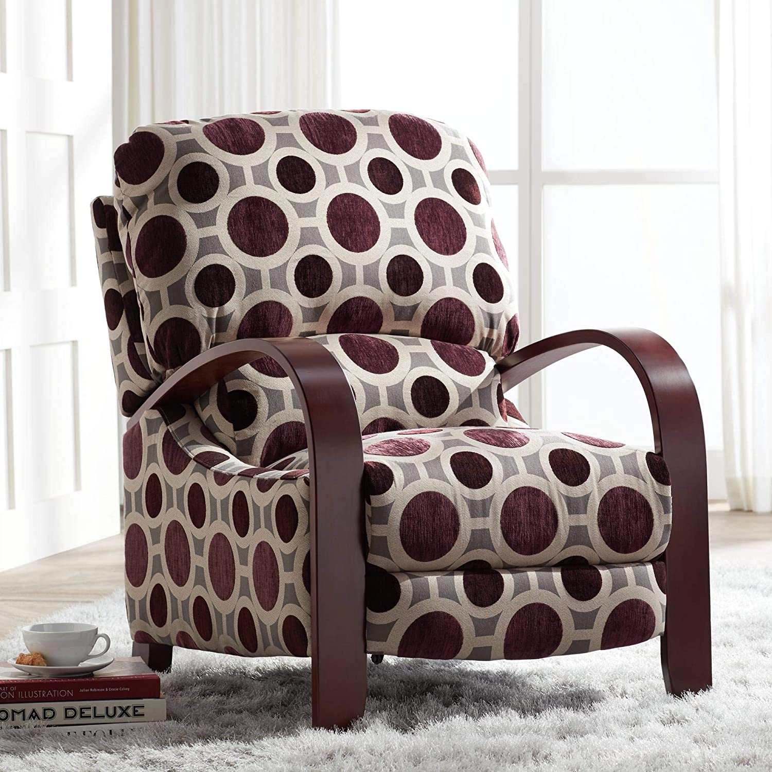 Cooper Conspiracy Mulberry 3-Way Recliner Chair - Elm Lane